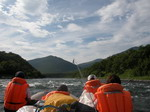 Rafting on the rivers of Kamchatka